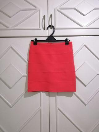 New auth Topshop skirt bodycon high waist xs