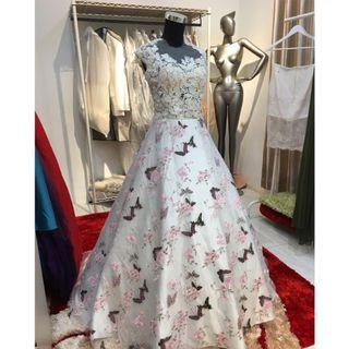 Maxi dress, ballgown , prewed gown