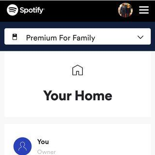 Spotify Family Plan 1 Month (Limited Slot)