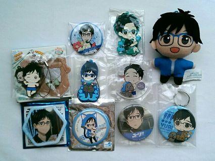 [OFFICIAL] Yuri On Ice Official Merchandise (Scroll for more..)