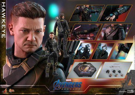 Hottoys avengers end game 復仇者聯盟4 鷹眼 普通版 4月 訂單一張 Hawkeye