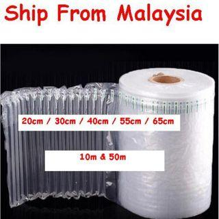 Inflatable Air Packing Cushion Bubble Pack Wrap Kaca Fragile 10m & 50m