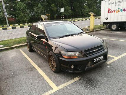 Lancer cs2a ralliart 1.8 turbo evo