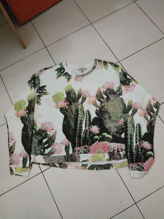 Floral Crop Top Zara