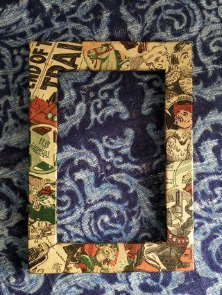 🤠 SMALL WESTERN MOTIF PICTURE FRAME 🐎