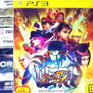 [THIS IS DISC] PS3 Ultra Street Fighter IV SF4 Sony Capcom Fighting Games