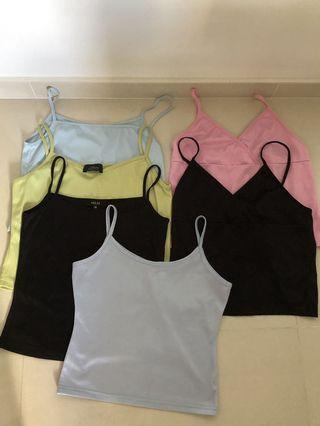 6 Tops for $15