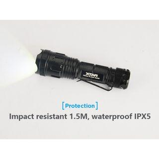 Xtar WK007 XP-G3 500 Lumens Zoomable AA Flashlight