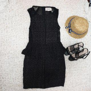 Black Dress (dress only shoe and hat just accecories photo)
