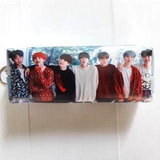 BTS's Pencil Case **New & Nicely Double Printed**