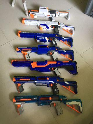 🚚 Nerf lot of toy guns