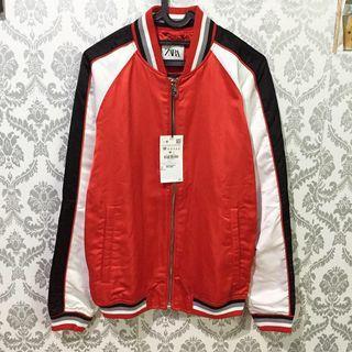 Bomber varsity Zara man size M L original New