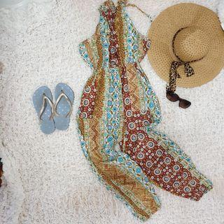 Jumpsuit batik (dress only sliper and hat just accecories photo)