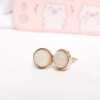 水晶型耳環