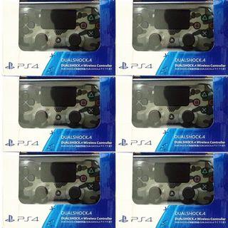 [new not used] Camo Grey Sony PlayStation PS4 DUALSHOCK 4 wireless Analog Controller