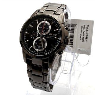 5折出售 深水步有門市全新1年保養有單正版正貨 SEIKO 精工錶 SSC095P1