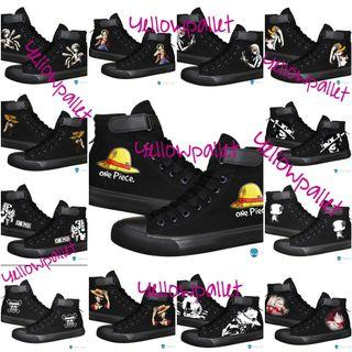 One piece sneakers shoes