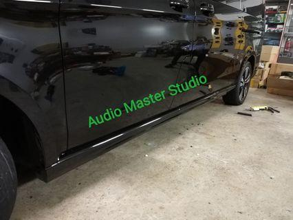 Mercedes V class side skirt