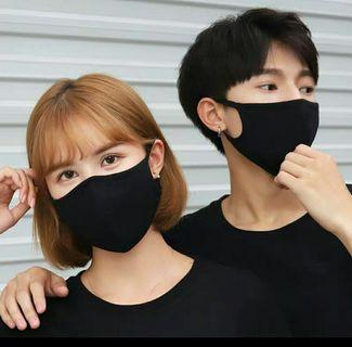 BN 3D Cotton Face Mask (washable, black only)