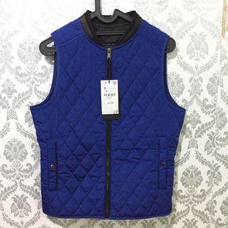jacket vest zara man size S original New with tag