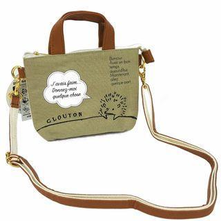 刺蝟 Hedgehog 斜揹袋 Paris Sera Toujours Paris & SMART. Shoulder Bag 日本直送 (包平郵或本地郵局自取)
