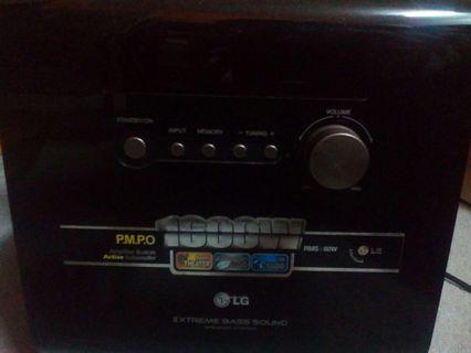 Mini home theatre audio