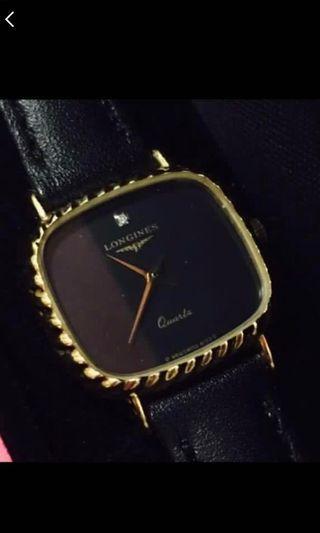 Authentic (鑲碎鑽)浪琴錶