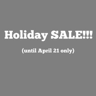 Holiday SALE!!!