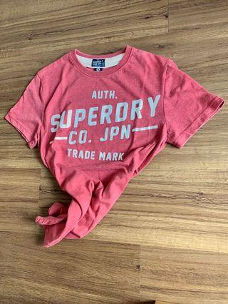 Superdry Red Tee