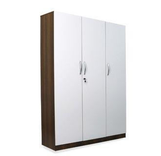 Offer!!! 3 DOOR WHITE WARDROBE