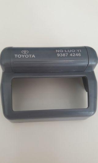 🖤Car IU Cash Card Cover ( Toyota)