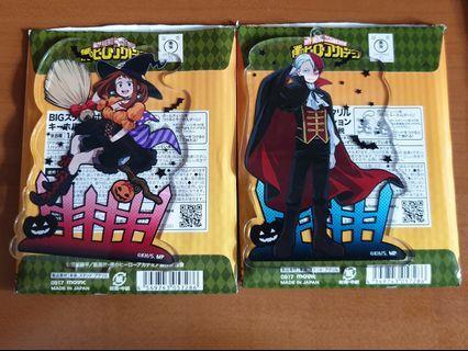 WTS Boku no Hero Todoroki and Uraraka keychain/standee