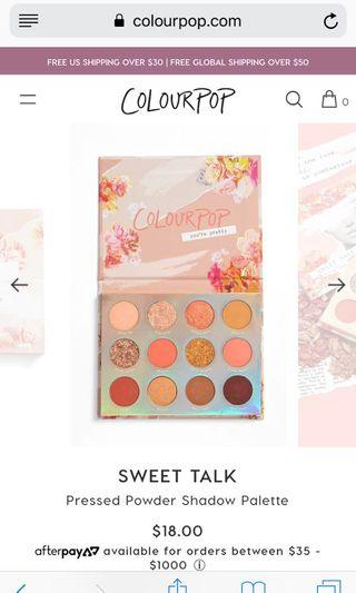 Looking for Sweet Talk by Colourpop