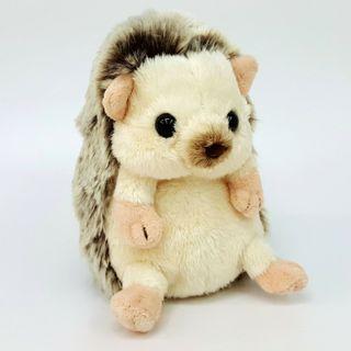 刺蝟 Hedgehog 毛公仔 約14cm高 Fluffies Plush Doll Toy S 日本直送 (包平郵或本地郵局自取)