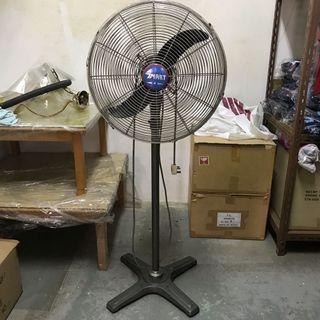 Industrial electric stand fan