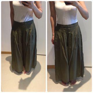 Japan green culottes #endgameyourexcess