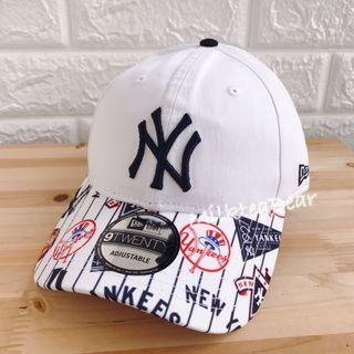 美版New Era NY 9 twenty 刺繡logo cap