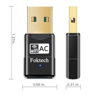 Dual Band AC600Mbps Wireless Dongle