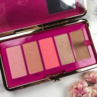 Tarte Life of the party clay blush palette & clutch (LIMITED EDITION)