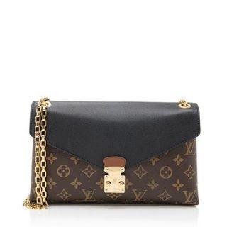 Louis Vuitton Monogram Canvas Pallas Chain Shoulder Bag