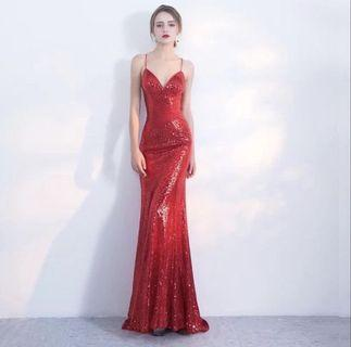🚚 Red Sexy EVENING GOWN