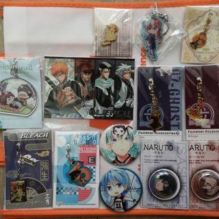 Authentic / Fanart/ Doujin Anime Merchandises for sales