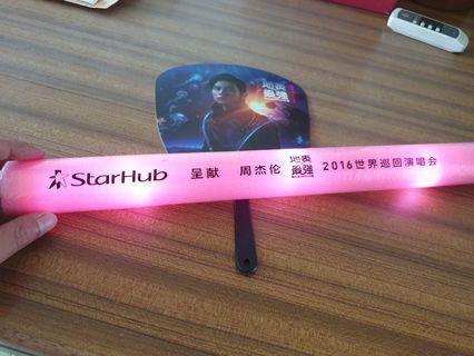 🚚 Jay chou 2016 concert light stick and fan