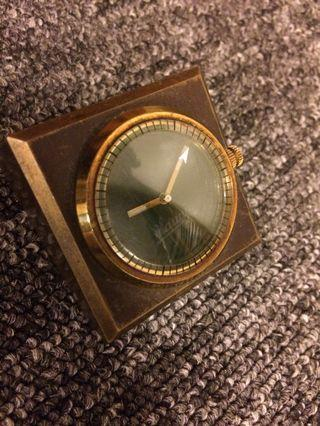 Paper Weight Winding Table Clock Antique Vintage Jam Antik..ikea
