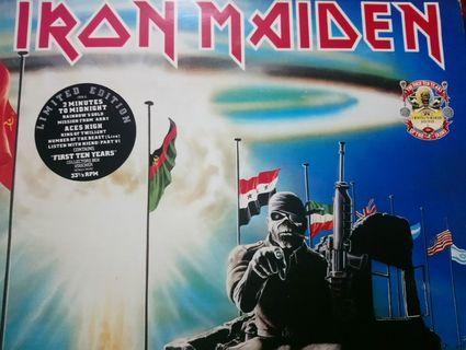 """Iron Maiden Double 12"""" Vinyl Singles"""