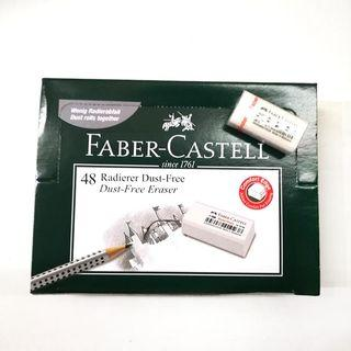 [1 BOX / 48PCS] Faber-Castell Radierer Dust-Free Eraser (FC 18 70 89)