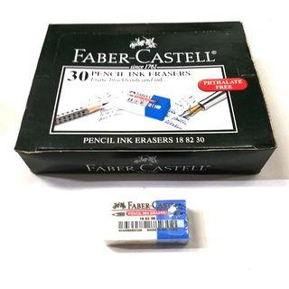 [1 BOX / 30PCS] Faber-Castell Pthalate Free Pencil Ink Eraser (FC188230)