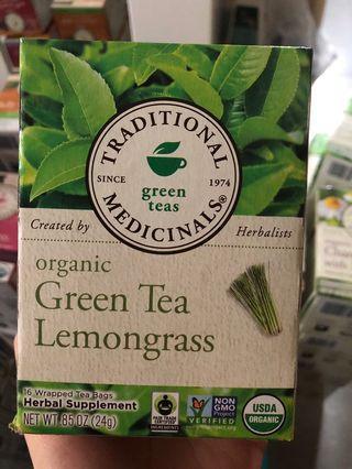 有機綠茶檸檬香茅 Traditional Medicinals