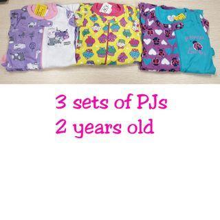 [BRAND NEW with Tag] Place Brand, 3 Sets Pajamas