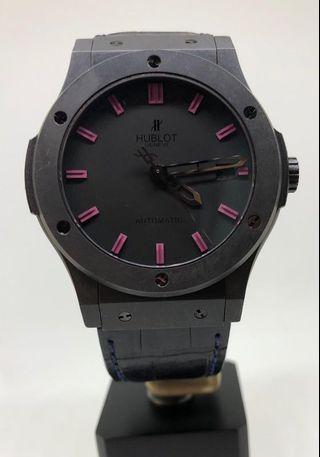 🚚 HUBLOT CLASSIC FUSION BLACK MAGIC LIMITED EDITION